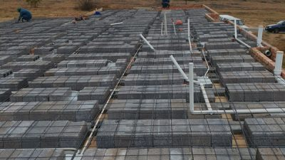image showing rib & block slab with mesh